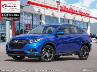 New 2021 Honda HR-V Sport for sale in Sudbury, ON