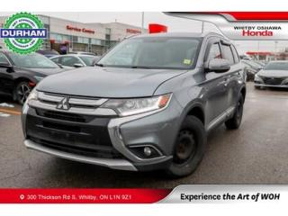 Used 2016 Mitsubishi Outlander AWC 4DR SE for sale in Whitby, ON