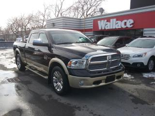 Used 2015 RAM 1500 Laramie Longhorn Crew 4WD with EcoDiesel for sale in Ottawa, ON