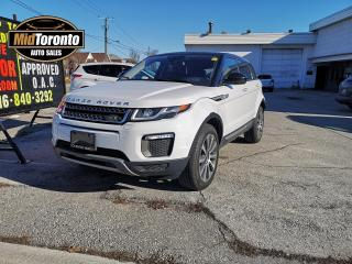 Used 2016 Land Rover Evoque HSE - Land Rover Dealership Serviced - Excellent Condition - No Accidents - Ontario Vehicle for sale in North York, ON