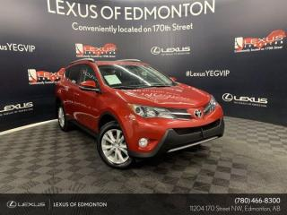 Used 2015 Toyota RAV4 LIMITED  for sale in Edmonton, AB