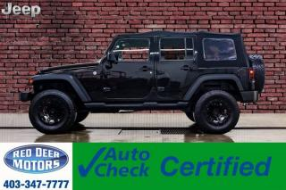 Used 2015 Jeep Wrangler Unlimited 4x4 Sport Level Kit Manual for sale in Red Deer, AB