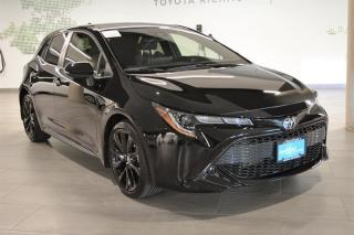 Used 2020 Toyota Corolla Hatchback Hatchback CVT for sale in Richmond, BC