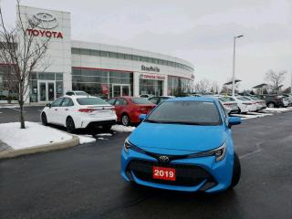 Used 2019 Toyota Corolla Hatchback SE UPGRADE - FULLY SERVICED - ONE OWNER for sale in Stouffville, ON