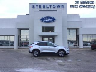 Used 2020 Ford Escape SEL 4WD  - ActiveX Seats -  Power Liftgate for sale in Selkirk, MB