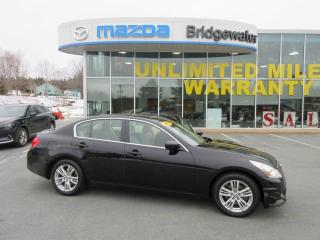 Used 2011 Infiniti G37 X Luxury for sale in Hebbville, NS