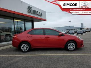 Used 2018 Toyota Corolla LE  - Certified - Heated Seats - $122 B/W for sale in Simcoe, ON