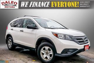 Used 2014 Honda CR-V LX / HEATED SEATS / BACKUP CAM / BUCKET SEATS for sale in Hamilton, ON