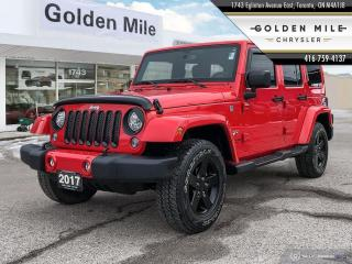 Used 2017 Jeep Wrangler Unlimited Sahara for sale in North York, ON
