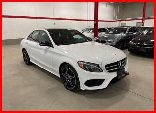 Used 2018 Mercedes-Benz C-Class C300 4MATIC NIGHT PREMIUM CLEAN CARFAX! for sale in Vaughan, ON