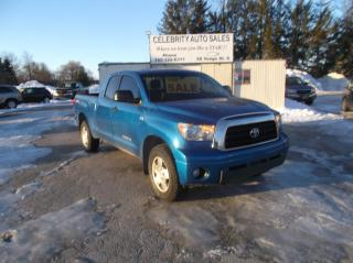 Used 2008 Toyota Tundra 4X4 TRD SR5 4 DOOR for sale in Elmvale, ON