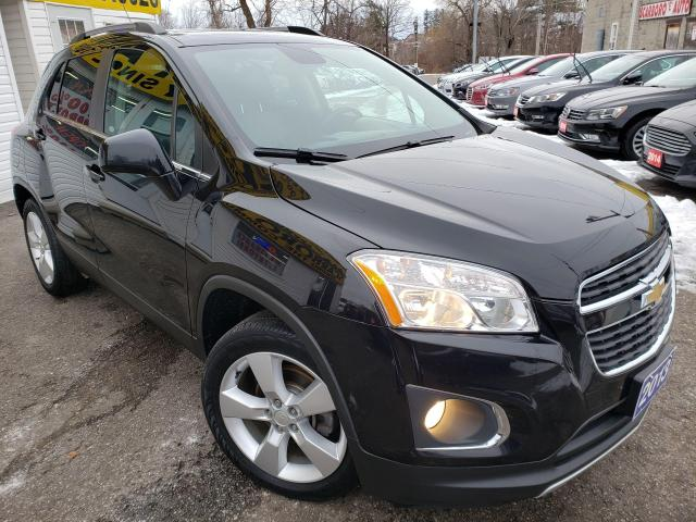 2013 Chevrolet Trax LTZ/AWD/LEATHER/ROOF/CAMERA/LOADED/ALLOYS