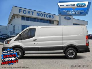 New 2020 Ford Transit Cargo Van LR CARGO  - Cruise Control - $370 B/W for sale in Fort St John, BC
