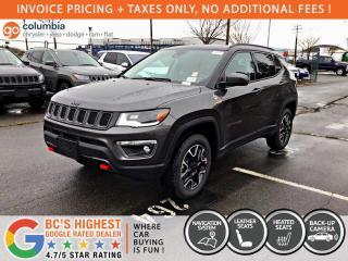 New 2021 Jeep Compass Trailhawk Elite for sale in Richmond, BC