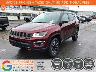 New 2021 Jeep Compass Trailhawk Elite for sale in Richmond, BC