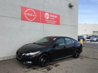 New 2021 Nissan Sentra SR/PUSH START/LANE DEPARTURE/ BLIND SPOT/REAR SONAR/SPORT DESIGN / for sale in Edmonton, AB