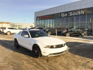 Used 2010 Ford Mustang V8, COUPE, LEATHER for sale in Edmonton, AB