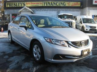 Used 2015 Honda Civic LX AC PL PM PW Cruise Htd Seat Rev Cam for sale in Ottawa, ON