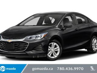 Used 2019 Chevrolet Cruze RS - CLOTH, HEATED SEATS, BLUETOOTH, BACK UP, REMOTE START, GREAT VALUE for sale in Edmonton, AB