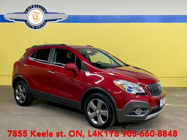 2013 Buick Encore AWD Bluetooth, Backup Cam, 2 Years Warranty
