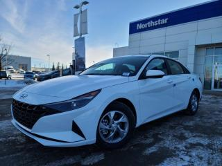 New 2021 Hyundai Elantra ESSENTIAL MANUAL: HEATED SEATS/WIRELESS APPLE CARPLAY/8 INCH TOUCHSCREEN/BACK UP CAMERA for sale in Edmonton, AB