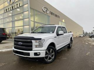 Used 2017 Ford F-150 LARIAT 502A SUPERCREW 4X4 3.5 ECO FULL JAM for sale in Edmonton, AB