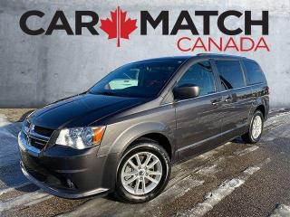 Used 2019 Dodge Grand Caravan NO ACCIDENTS / SXT PREMIUM PLUS / DVD for sale in Cambridge, ON