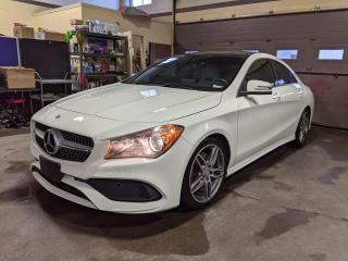 Used 2017 Mercedes-Benz CLA 250 4MATIC/Cream Int/AMG Alloy/Nav+RearCam/No Accident for sale in North York, ON