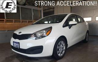 Used 2015 Kia Rio LX  STROG ACCELERATION!! for sale in Barrie, ON