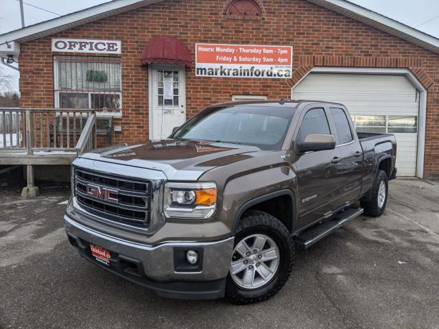 2014 GMC Sierra 1500 SLE Double Cab 5.3 V8 4x4 Back Up Cam BT Tlr Hitch