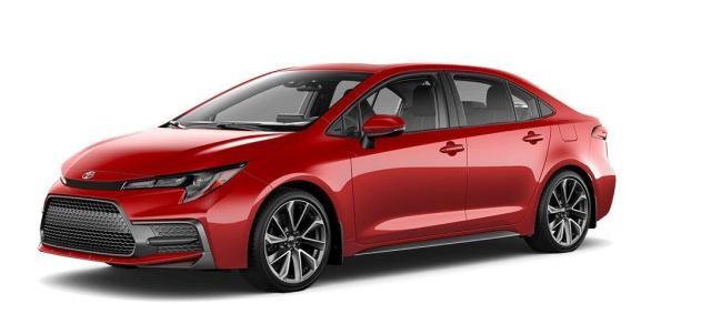 2021 Toyota Corolla SE Upgrade