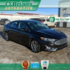 Used 2020 Ford Fusion Hybrid Titanium - Accident Free! w/Mfg Warranty, Command Start, Backup for sale in Saskatoon, SK