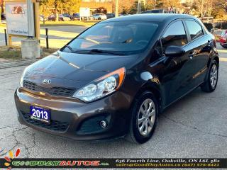 Used 2013 Kia Rio LX|NO ACCIDENT|SINGLE OWNER|BLUETOOTH|CERTIFIED for sale in Oakville, ON
