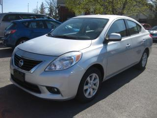 Used 2014 Nissan Versa SL FWD Auto AC Cruise Nav Rev Cam PL PM PW for sale in Ottawa, ON