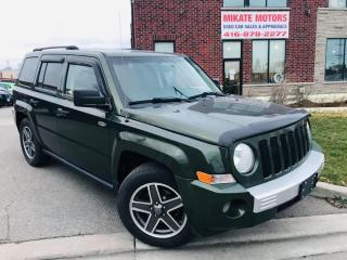 Used 2009 Jeep Patriot NORTH EDITION 4X4 for sale in Rexdale, ON