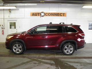 Used 2016 Toyota Highlander LIMITED AWD for sale in Peterborough, ON
