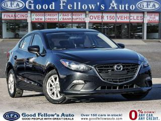 Used 2016 Mazda MAZDA3 GS 4CYL 2L SKYACTIV, REARVIEW CAMERA, HEATED SEATS for sale in Toronto, ON