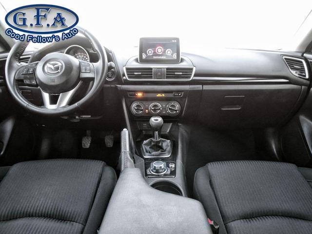 2016 Mazda MAZDA3 GS 4CYL 2L SKYACTIV, REARVIEW CAMERA, HEATED SEATS