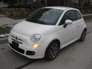 Used 2015 Fiat 500 AUTO, SPORT, CERTIFIED, NO ACCIDENTS, LOW KMS for sale in Toronto, ON