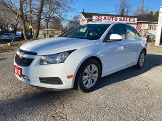 Used 2014 Chevrolet Cruze Low KM/Automatic/Bluetooth/Bckup Camera for sale in Scarborough, ON