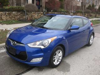 Used 2013 Hyundai Veloster 6SP, TECH, CERTIFIED, NO ACCIDENTS, LOW KMS for sale in Toronto, ON