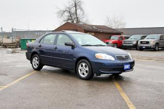Used 2007 Toyota Corolla CE SUNROOF, RIMS, REMOTE for sale in Brampton, ON