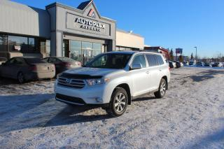 Used 2012 Toyota Highlander Touring for sale in Calgary, AB