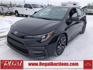 Used 2020 Toyota Corolla SE Upgrade 4D SEDAN 2.0L for sale in Calgary, AB