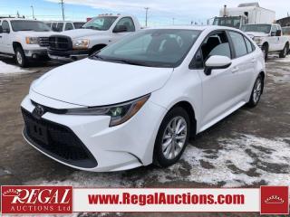 Used 2020 Toyota Corolla LE 4D Sedan 1.8L for sale in Calgary, AB