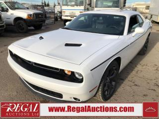 Used 2018 Dodge Challenger SXT Plus 2D Coupe 3.6L for sale in Calgary, AB