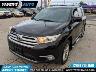 Used 2012 Toyota Highlander SE for sale in Hamilton, ON