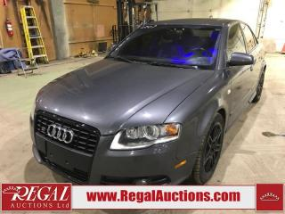 Used 2007 Audi A4 S-LINE 4D Sedan 2.0T for sale in Calgary, AB