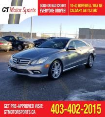 Used 2010 Mercedes-Benz E-Class E 350   | $0 DOWN - EVERYONE APPROVED! for sale in Calgary, AB