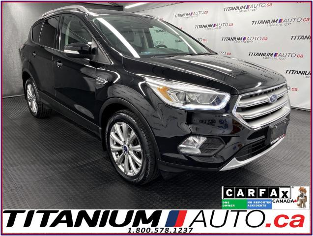 2017 Ford Escape Titanium+AWD+GPS+Pano Roof+Blind Spot+Leather+2.0L